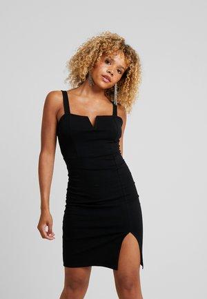 Robe fourreau - black