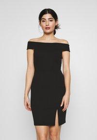 Even&Odd Petite - Vestito elegante - black - 0