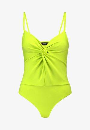 BODYSUIT - Top - neon yellow