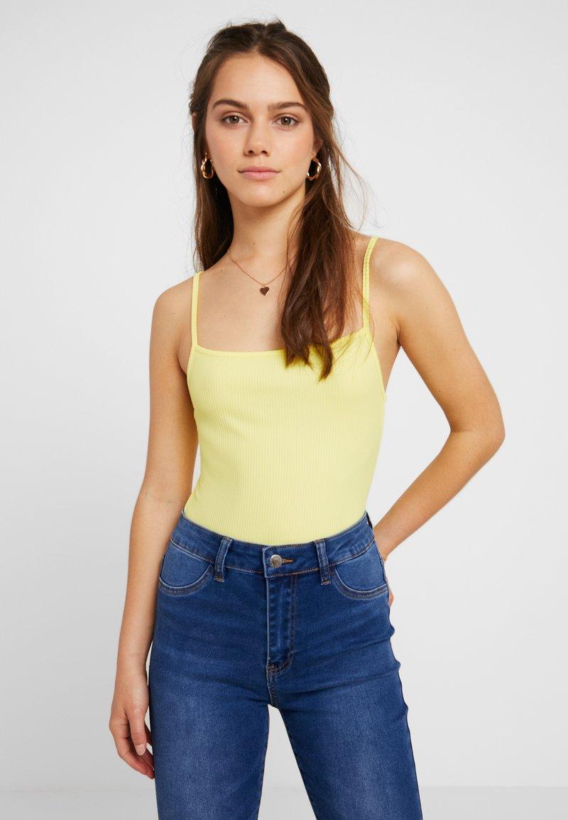 Even&Odd Petite - BODYSUIT - Top - yellow