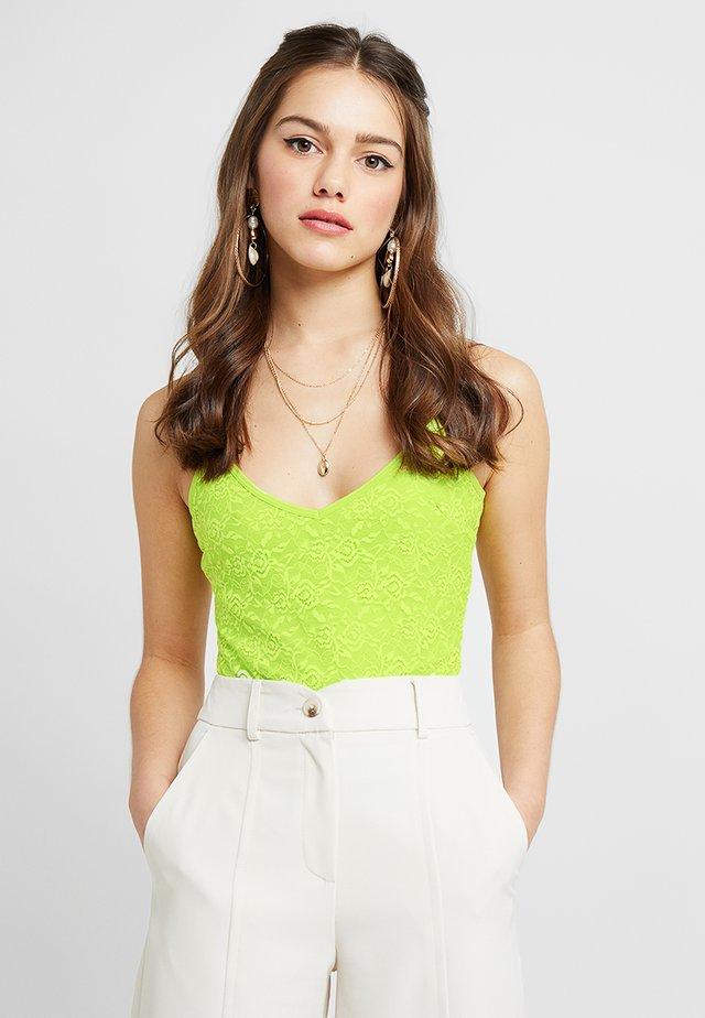BODYSUIT - Top - neon green