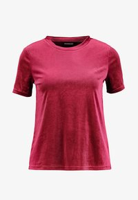 Even&Odd Petite - T-shirt con stampa - beet red - 3