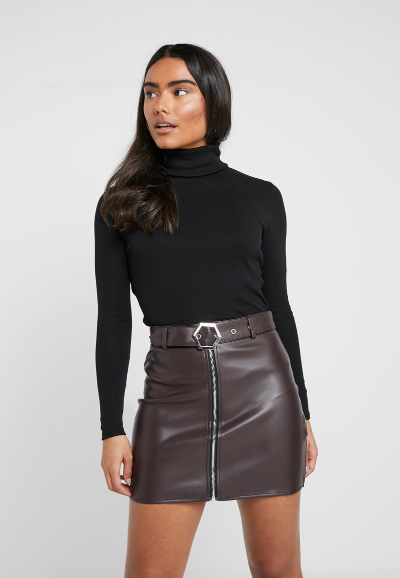 Even&Odd Petite - Long sleeved top - black