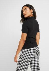Even&Odd Petite - 2ER PACK - Print T-shirt - white/black - 3