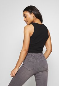 Even&Odd Petite - 2 PACK - Top - light grey/black - 3