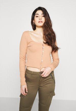 T-shirt à manches longues - camel