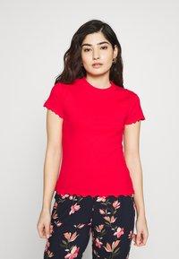 Even&Odd Petite - 2ER PACK - Camiseta básica - goji berry/black - 4