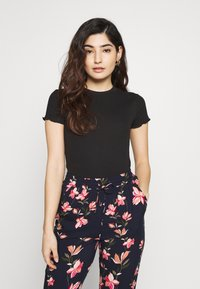 Even&Odd Petite - 2ER PACK - Camiseta básica - goji berry/black - 2
