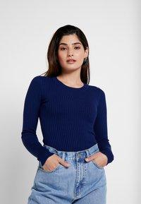 Even&Odd Petite - Pullover - dark blue - 0