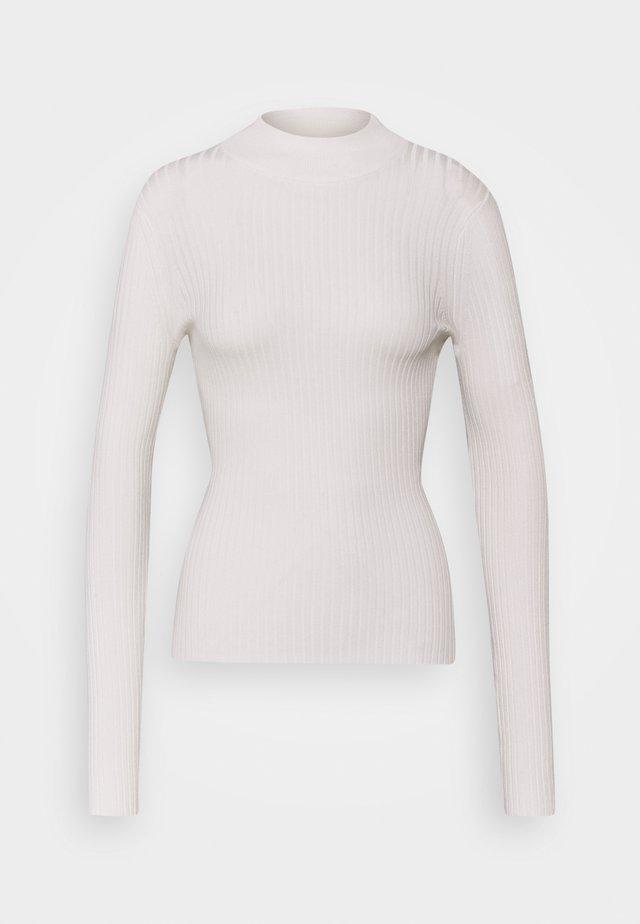 2 PACK MOCK NECK  - Strickpullover - off white