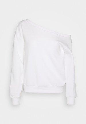 OFF SHOULDER - Bluza - white