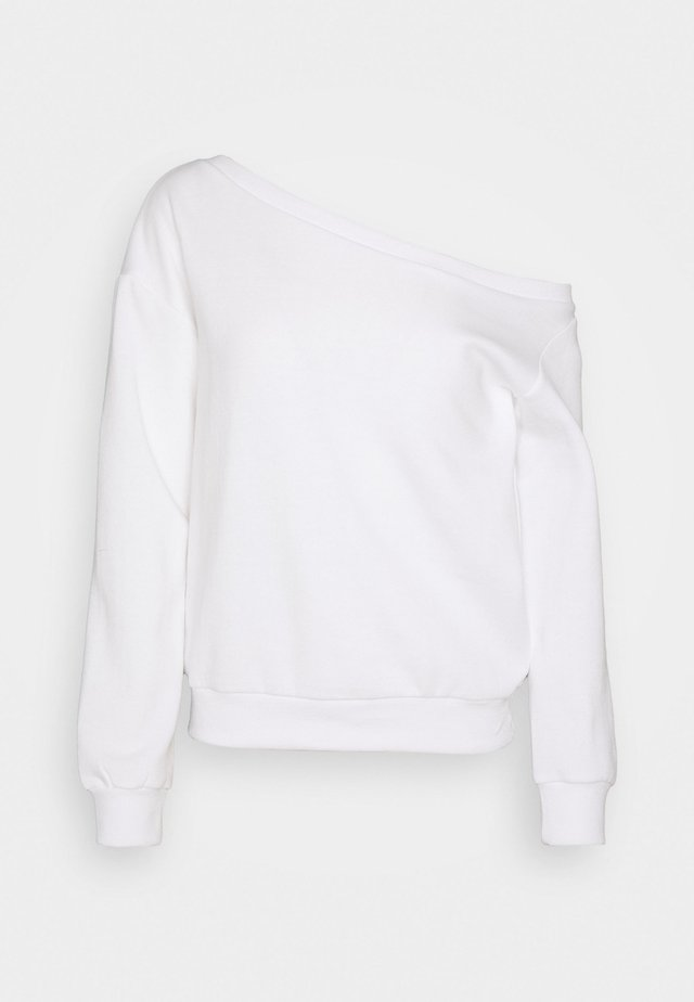 OFF SHOULDER - Sweater - white