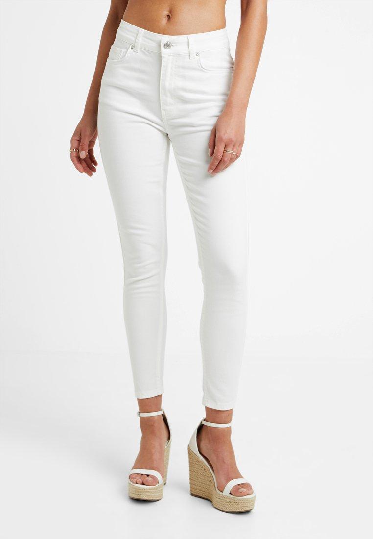 Even&Odd Petite - Jeans Skinny Fit - white denim