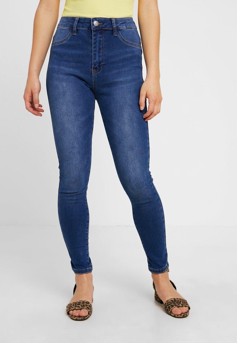 Even&Odd Petite - Jeans Skinny Fit - mid blue denim
