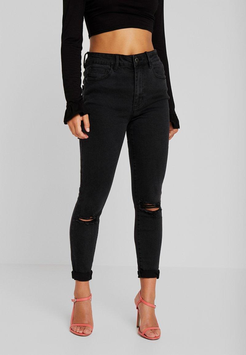 Even&Odd Petite - Jeans Skinny Fit - black