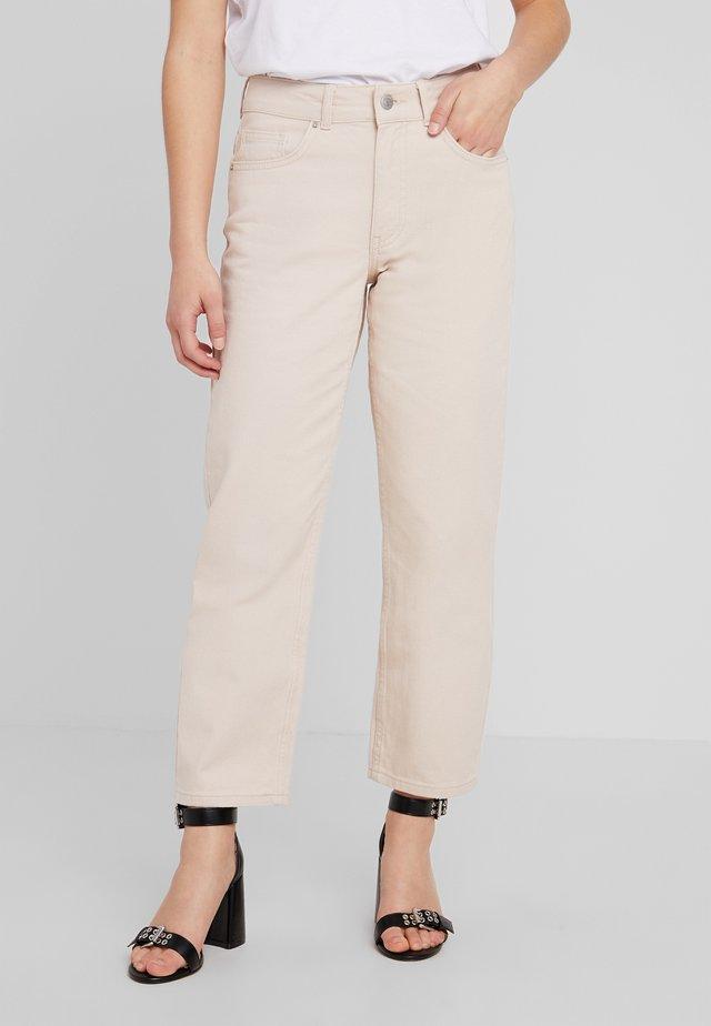 Jeans straight leg - stone