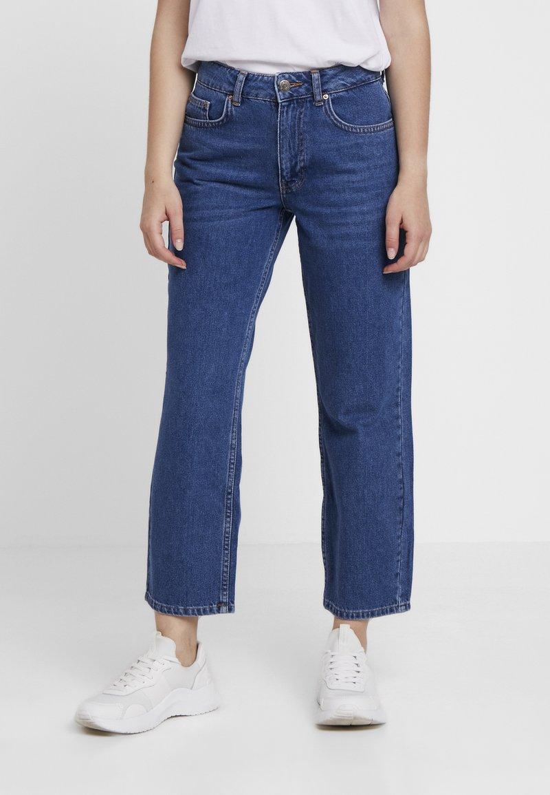 Even&Odd Petite - Jeans Straight Leg - blue denim