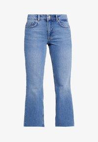 Even&Odd Petite - Flared jeans - light blue - 3