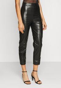 Even&Odd Tall - Trousers - black - 0