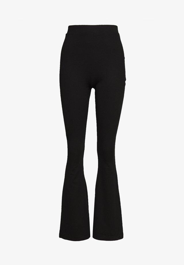 FLARE PANT - Legging - black