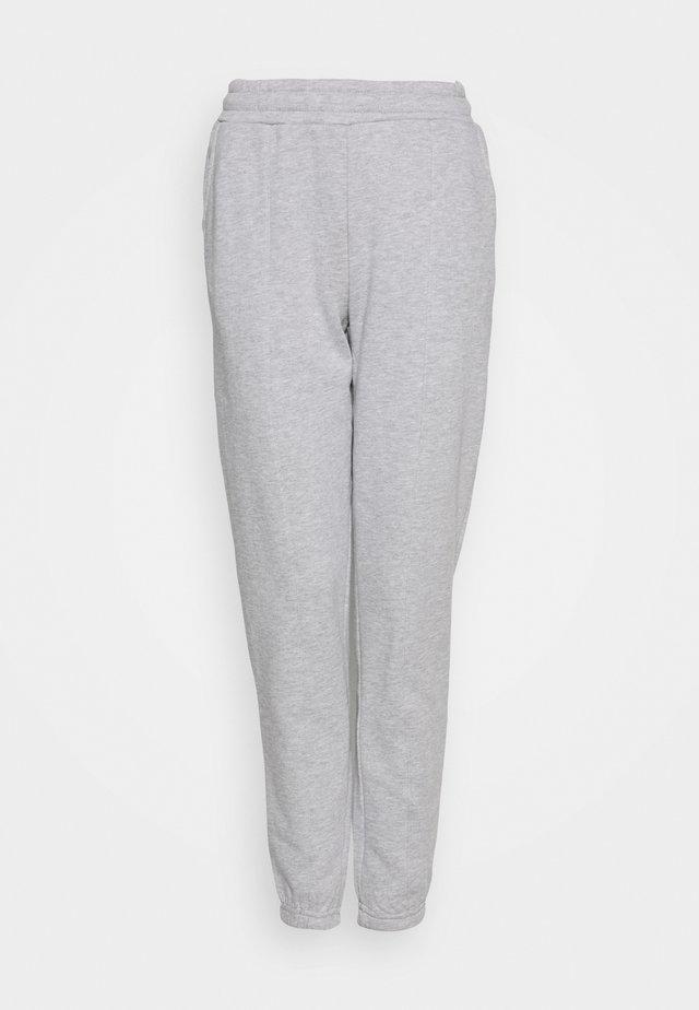 REGULAR FIT JOGGERS - Joggebukse - mottled light grey
