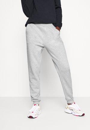 2PACK REGULAR FIT JOGGERS - Teplákové kalhoty - black/light grey