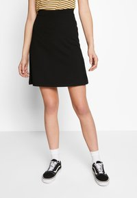 Even&Odd Tall - A-line skirt - black - 0