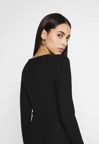 Even&Odd Tall - BASIC SHIFT DRESS - Shift dress - black - 3