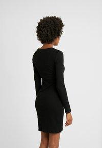 Even&Odd Tall - Shift dress - black - 3