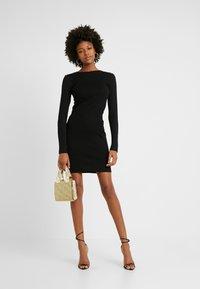 Even&Odd Tall - Shift dress - black - 2