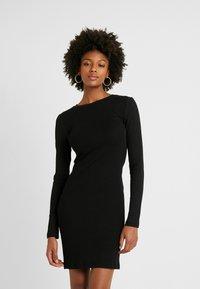 Even&Odd Tall - Shift dress - black - 0