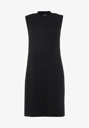 Žerzejové šaty - jet black