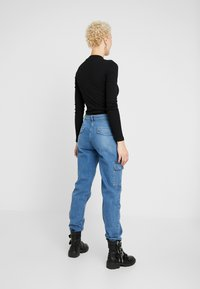 Even&Odd Tall - LONG SLEEVES BODYSUIT - Linne - black - 2