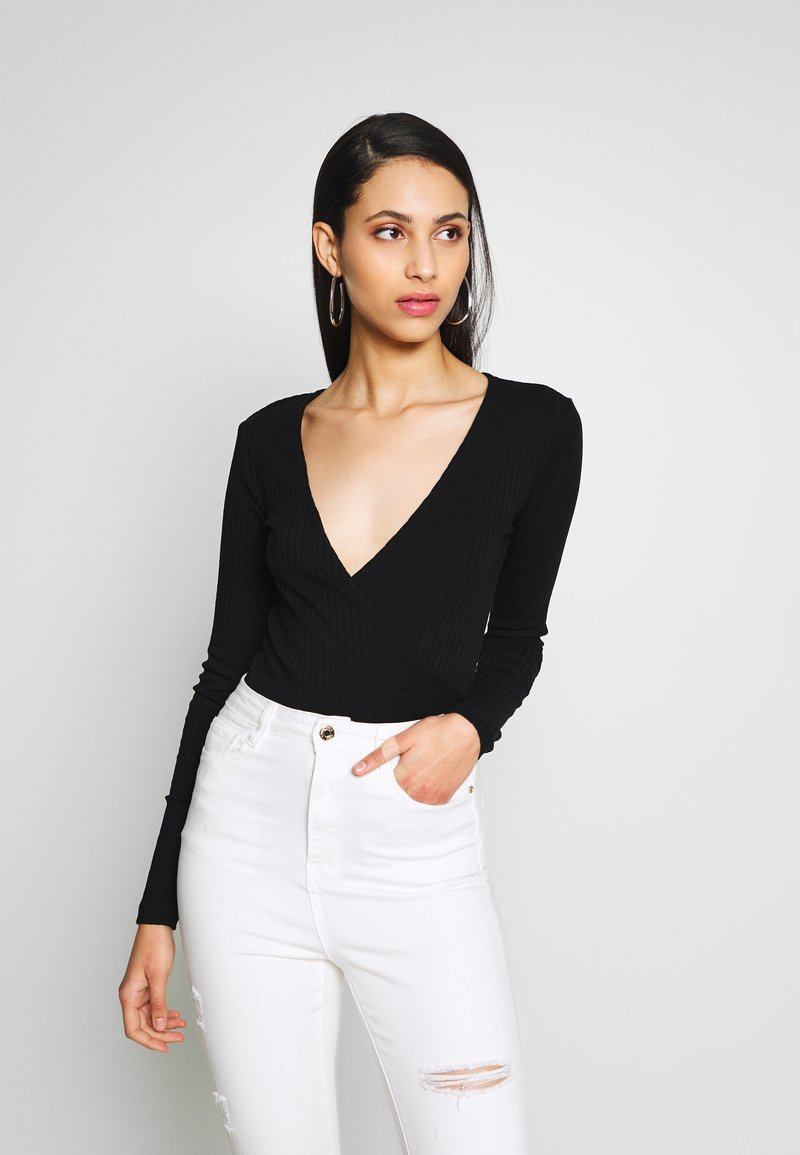 Even&Odd Tall - Long sleeved top - black