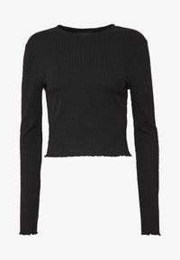 Even&Odd Tall - Long sleeved top -  black - 4