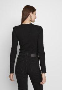 Even&Odd Tall - Long sleeved top -  black - 2