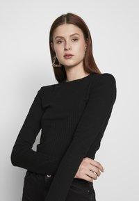 Even&Odd Tall - Long sleeved top -  black - 3