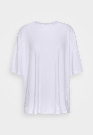 OVERSIZED SLOUCHY TEE - Basic T-shirt - white