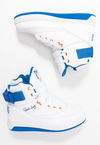 Ewing - 33 HI BASKETBALL - High-top trainers - white/princess blue/vibrant orange - 1