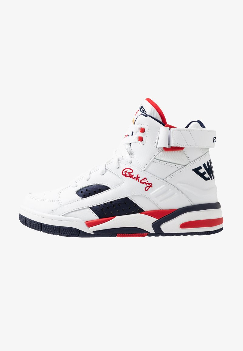 Ewing - ECLIPSE  - Höga sneakers - white/chinese red/black