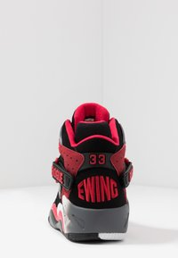 Ewing - ROGUE - High-top trainers - black/bright red/grey - 3