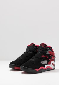 Ewing - ROGUE - High-top trainers - black/bright red/grey - 2