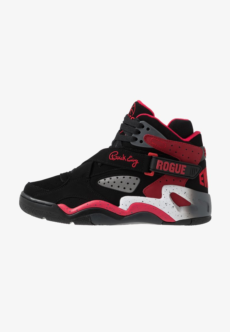 Ewing - ROGUE - Sneakers alte - black/bright red/grey