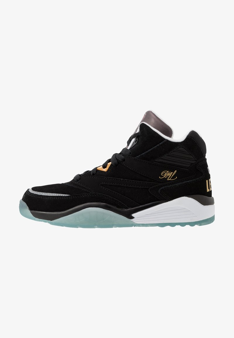 Ewing - SPORT LITE X BIG L - Sneakers hoog - black/white/ice
