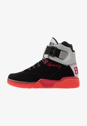 33 HI BASKETBALL - High-top trainers - black/red