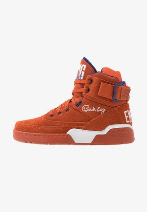 33 - Zapatillas altas - orange/white/royal