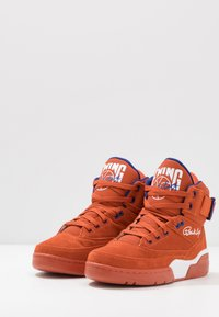 Ewing - 33 - Baskets montantes - orange/white/royal - 2