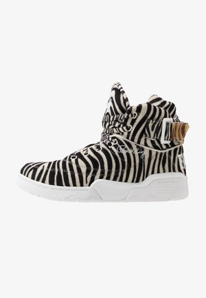 EWING 33 ZEBRA - Sneakers hoog - white/black