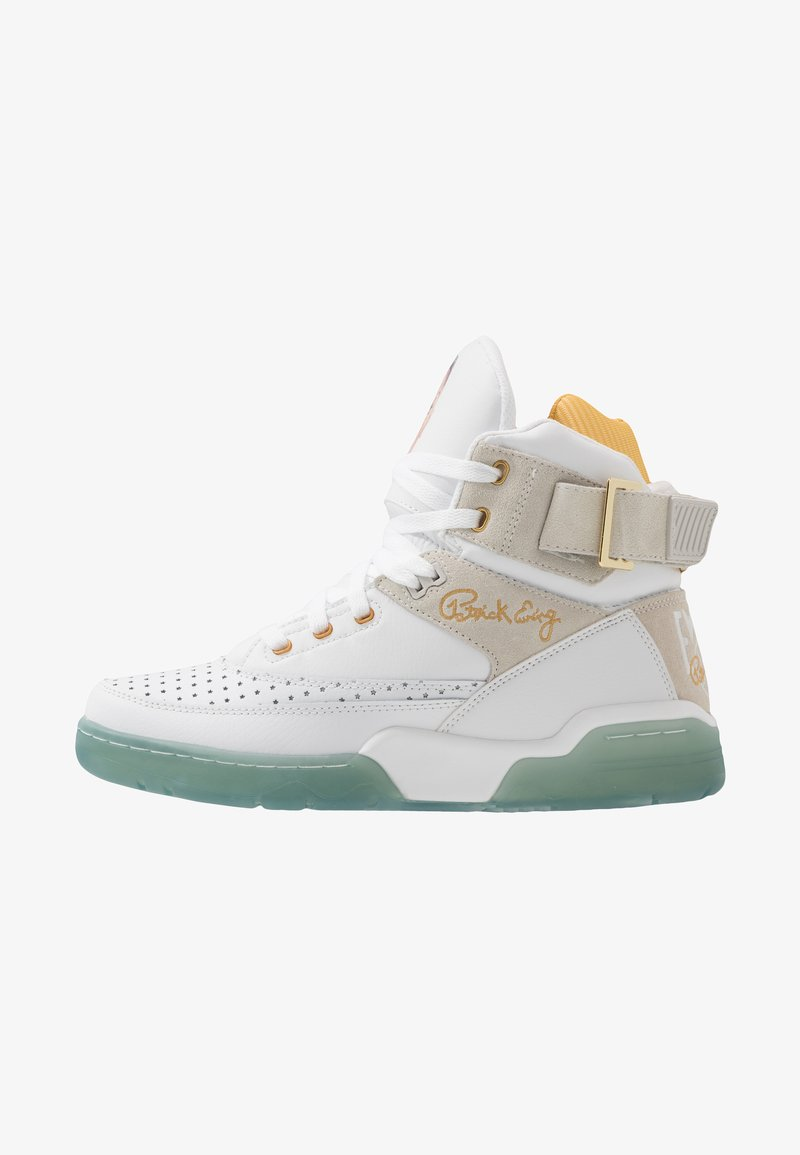 Ewing - 33 HI X LAURENS - High-top trainers - white/pale gold
