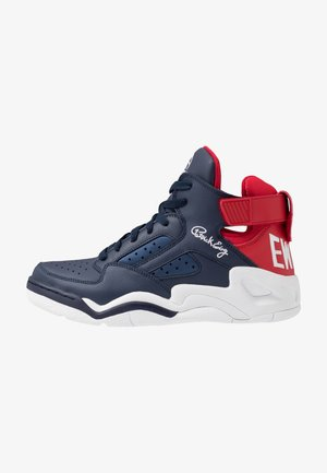 BASELINE - High-top trainers - navy/red/white